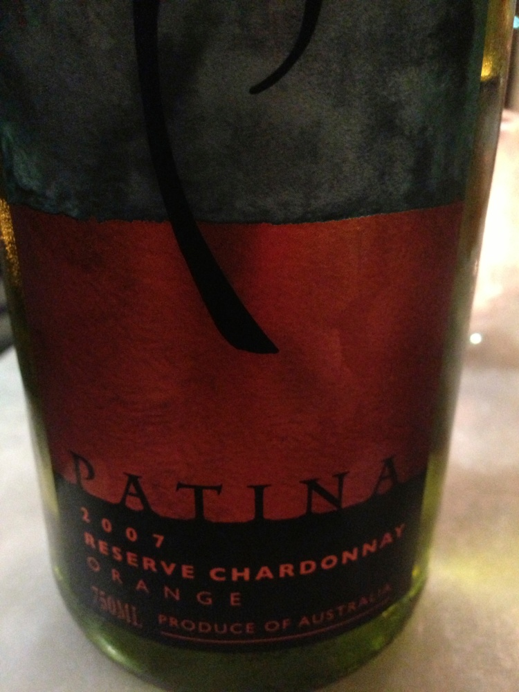 A wonderfully clean and crisp, unoaked and aromatic chardonnay from Patina Wines, a boutique operation on the slopes of Mt Canobolas, near Orange, in New South Wales. The cool climate and volcanic soils combine to offer bracing acidity and deep concentrations of fruit flavor.