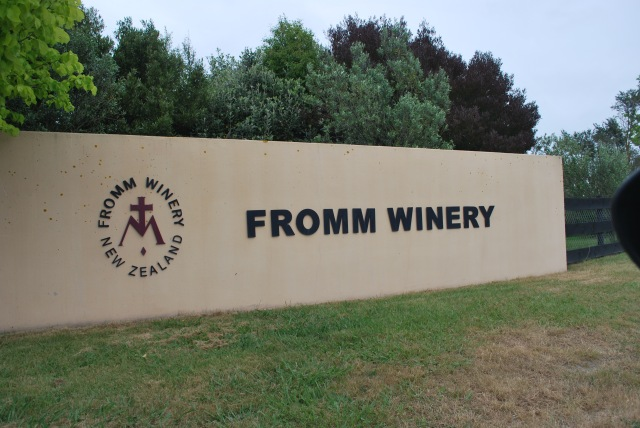 Our first stop was at Fromm, where we began our day of tasting with an in impressive lineup. Both their sauvignon blanc and pinot noir were in fine form.