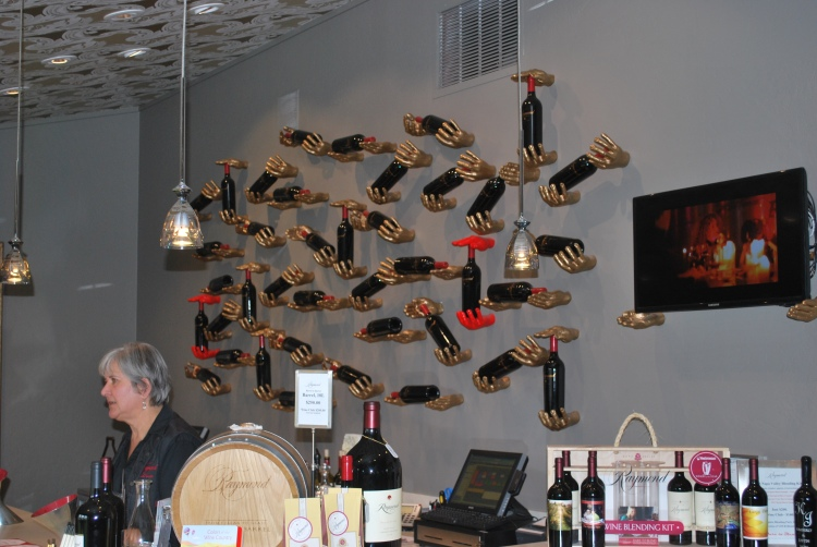 As we found out, over and over again, Raymond is not your typical Napa winery. Their hands-on approach, for example, is a bit different than that found in other tasting rooms.