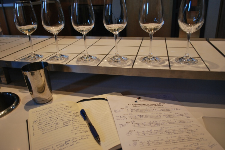 The job of a good wine writer is finding something special to say. Simple analyses of several wines that taste confusingly similar does nothing for ones reader. Making the wine come alive is the writer's job.