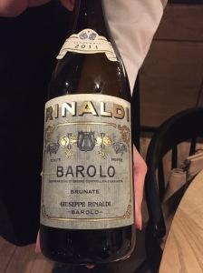 Rinaldi Barolo Rome 2017